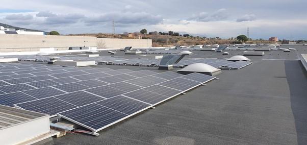 Instalación de placas fotovoltaicas instalaciones Embamat